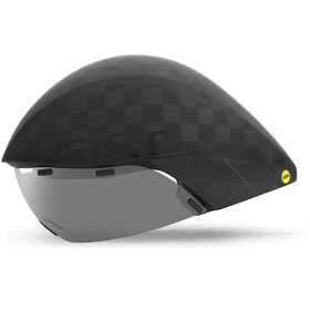 Giro Aerohead Ultimate MIPS Casco, matte black/gloss black